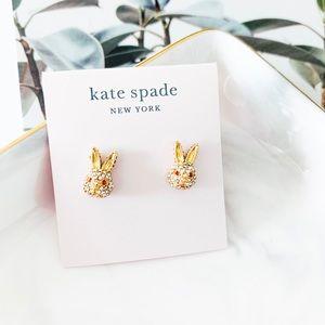 ❗️LAST ONE❗️Kate Spade Pave Bunny Stud Earrings